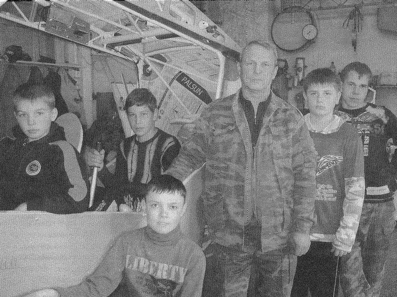 Наставник Вадим Борисович Румянцев и его ученики