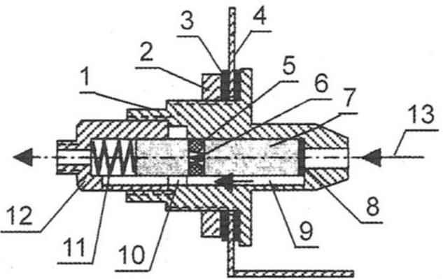 Рис. 5. Аварийный клапан