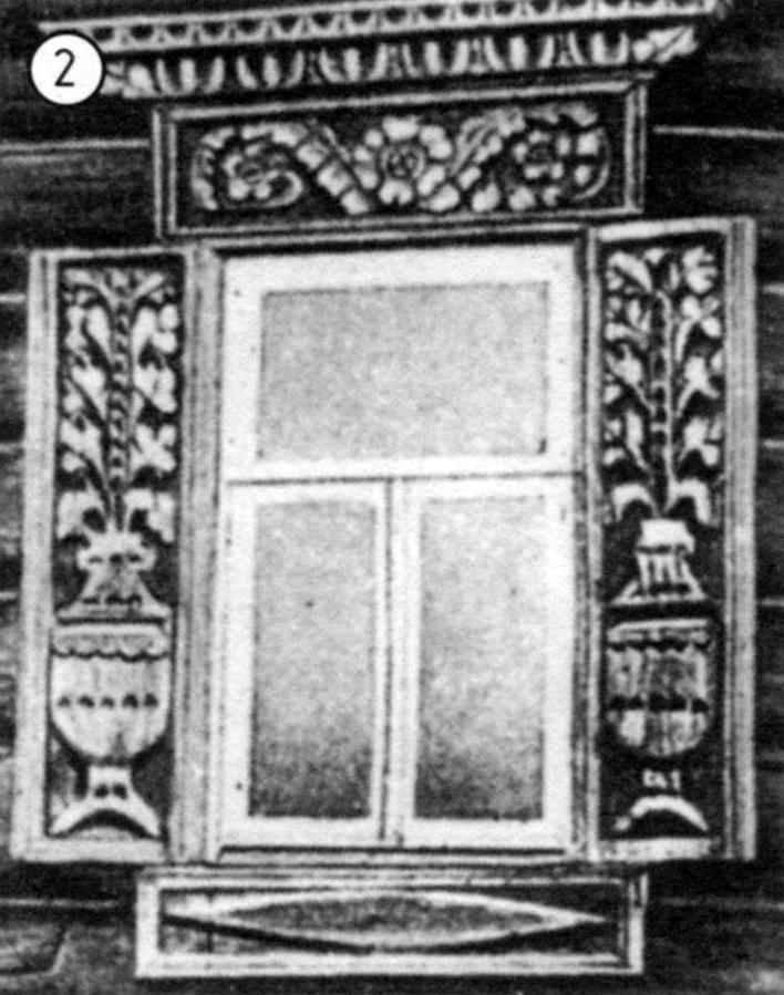 Decoration window casings