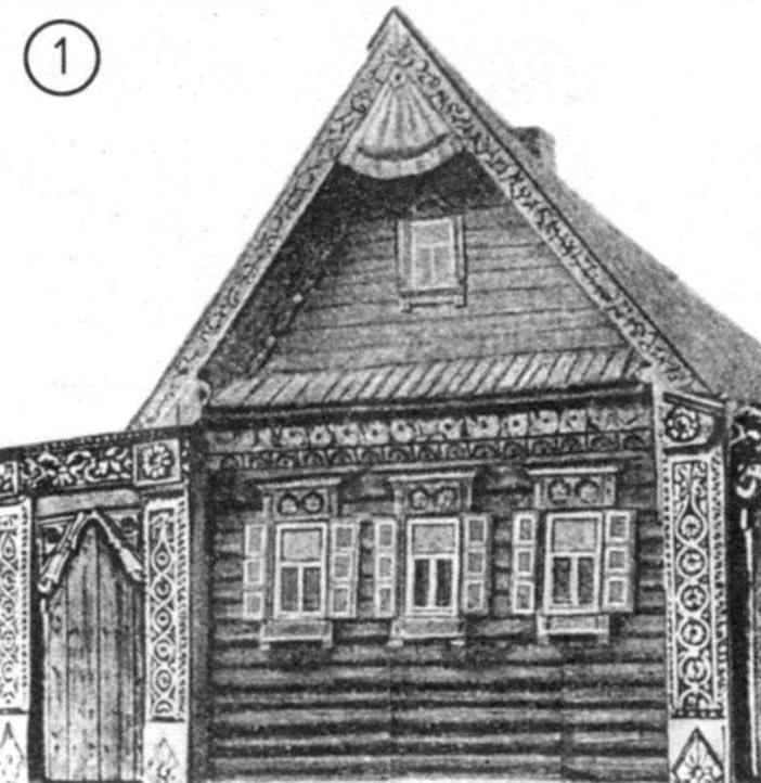 Резьба, преображающая «типовой» дом