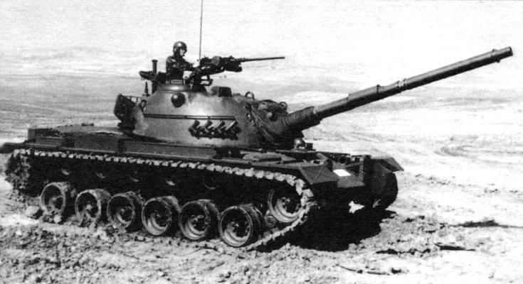 Средний танк М48А5Т1 турецкой армии