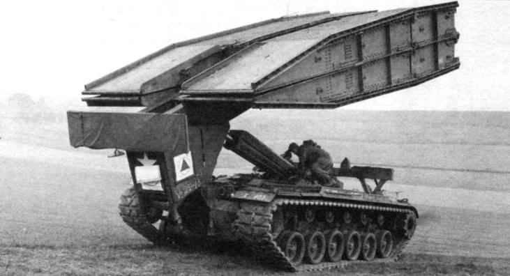 Танковый мостоукладчик AVLB