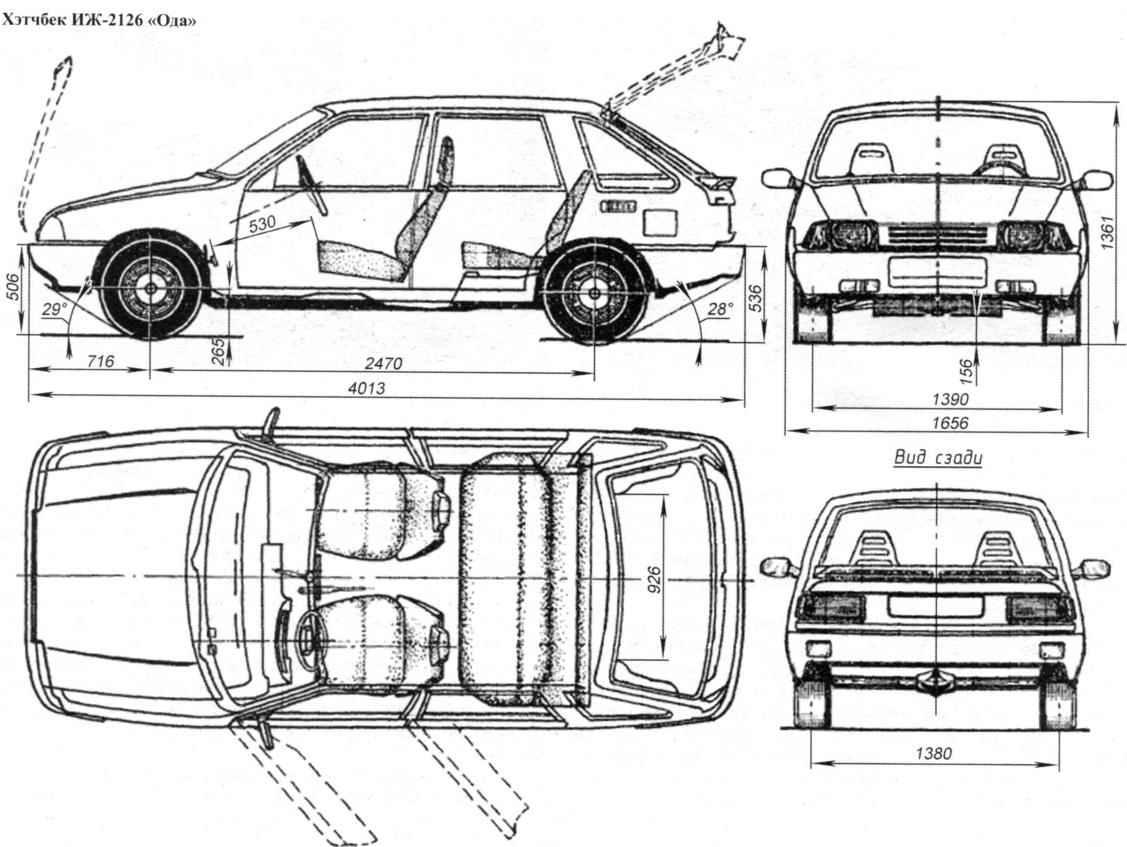 Hatchback IZH-2126