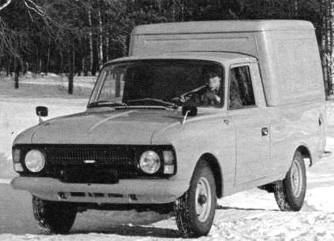 Mini truck IZH-2715