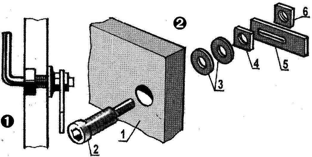 Fig. 1. Hidden lock-latch Assembly. Fig. 2. Build a secret latch
