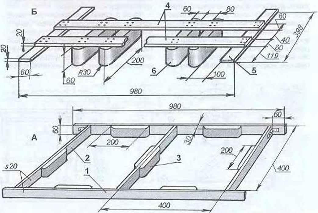 Рис. 2. Составная форма-матрица