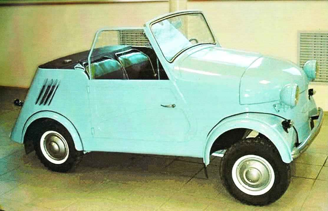 Мотоколяска-кабриолет СЗА (1957 г.)