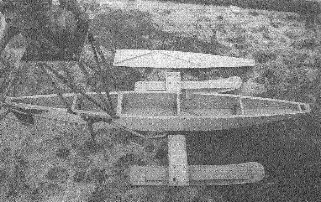 Корпус аэросаней без палубы