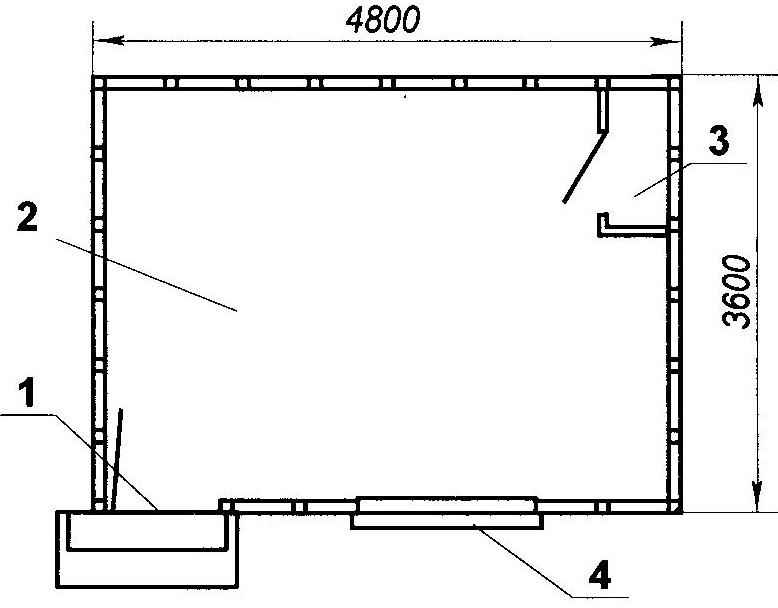 Рис. 2. План помещения