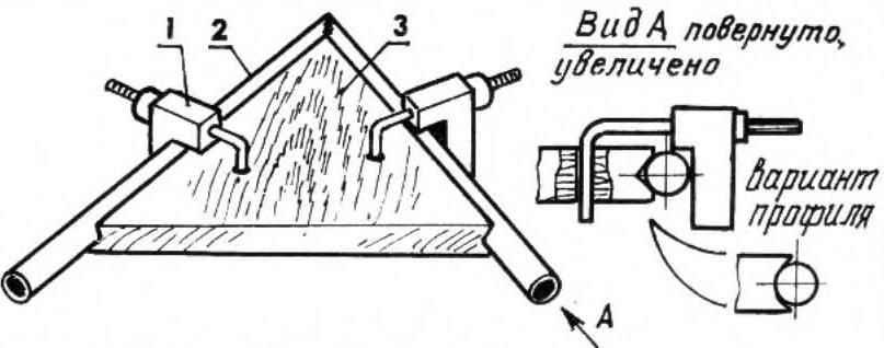 Кондуктор для сварки круглых заготовок