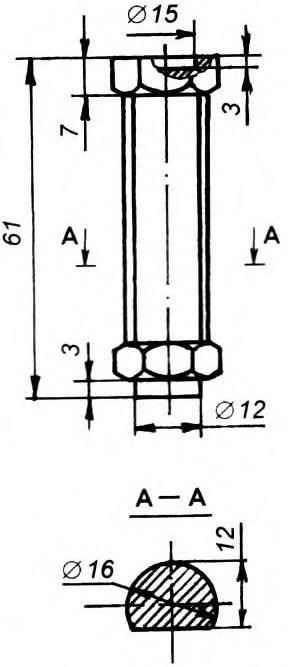 Рис. 2. Стержень жесткого съемника