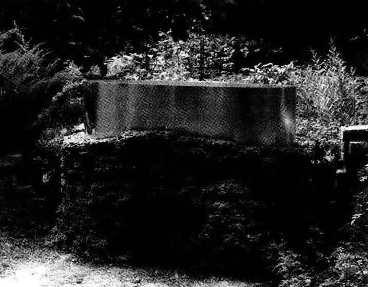 Промежуточный этап возведения стенок резервуара: вид с нижней террассы