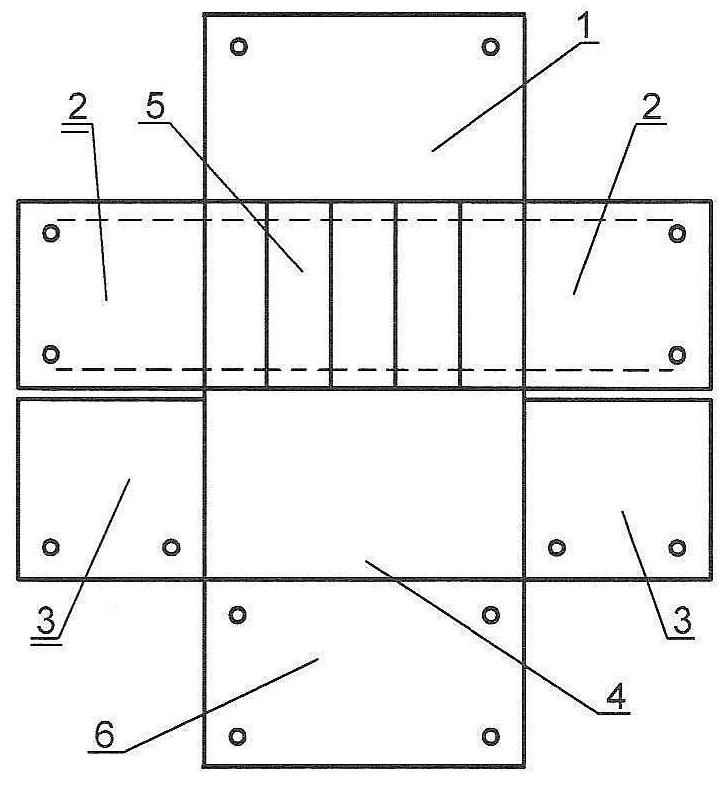 Развёртка блок-папки