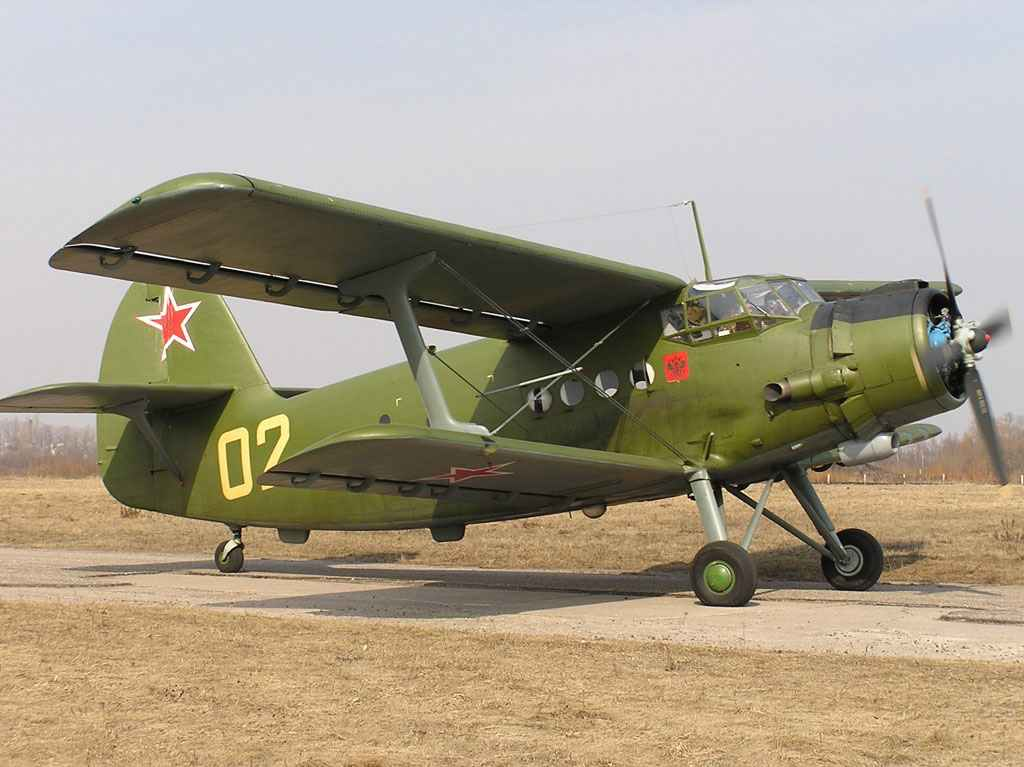 AN-2 BIPLANE-SURVIVOR