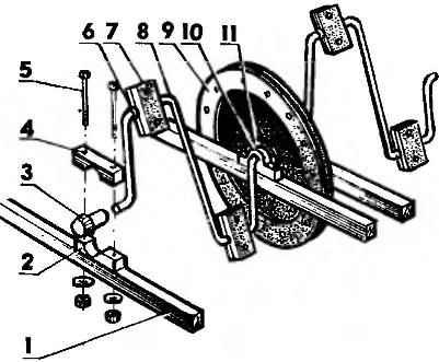 Педальный узел