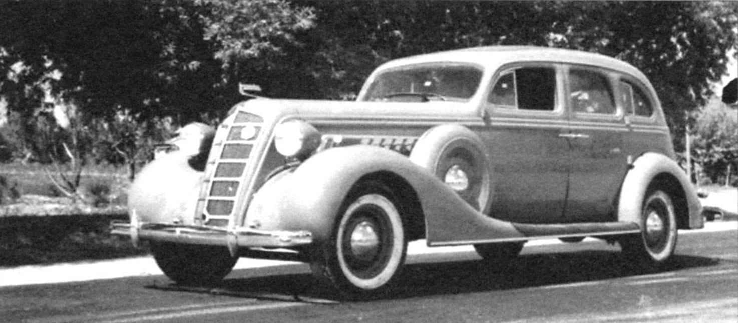 The luxury car ZIS-101