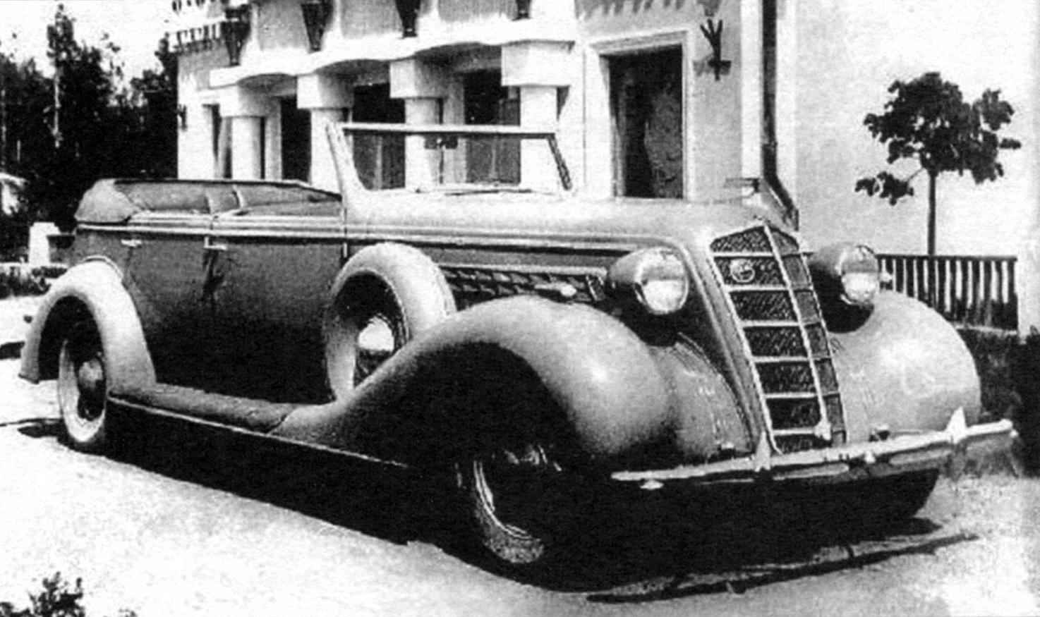 Автомобиль ЗИС-102