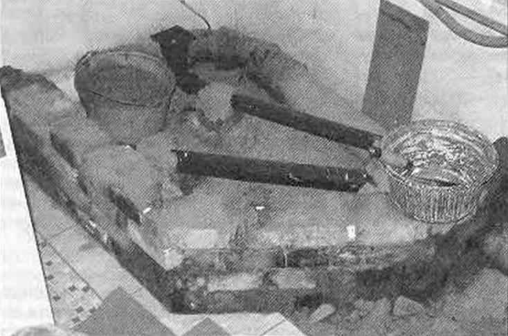 Кладка цокольной части кабины и устройство «трапа»
