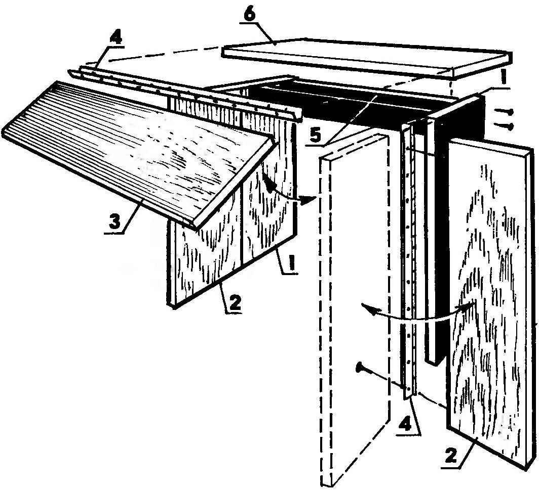 Стол-складень