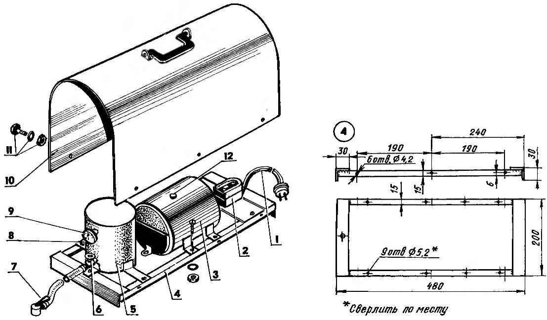 Компоновка компрессора