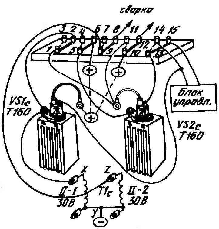Объемная схема установки