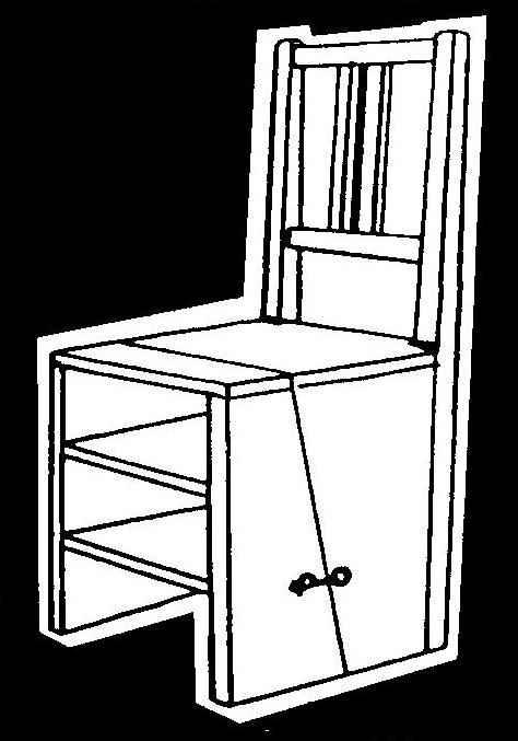 Комбинированный стул-стремянка