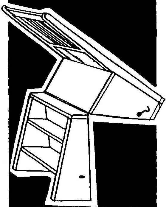 Трансформация стула в стремянку