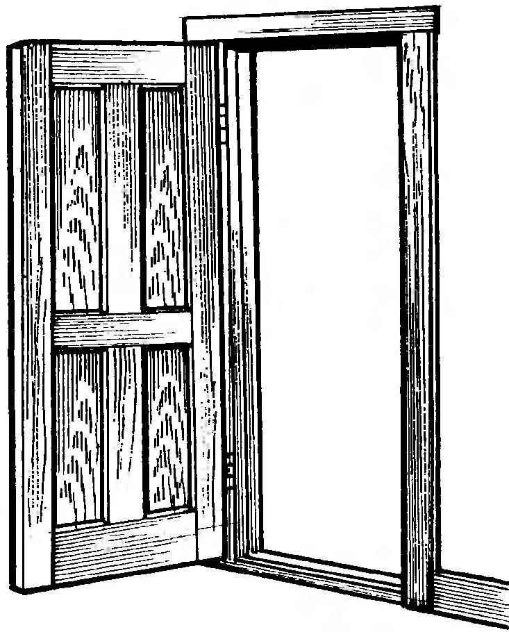 Рис. 14. Дверь после подгонки