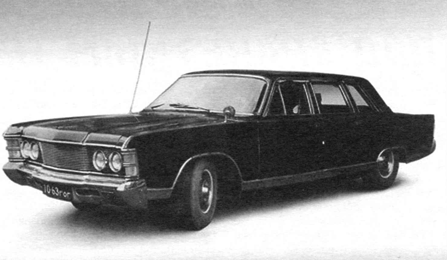 A failed attempt to modify the appearance of GAZ-14