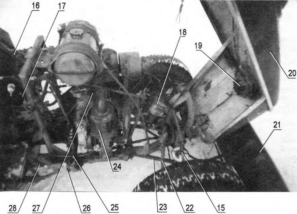 Layout of components and assemblies under the hood