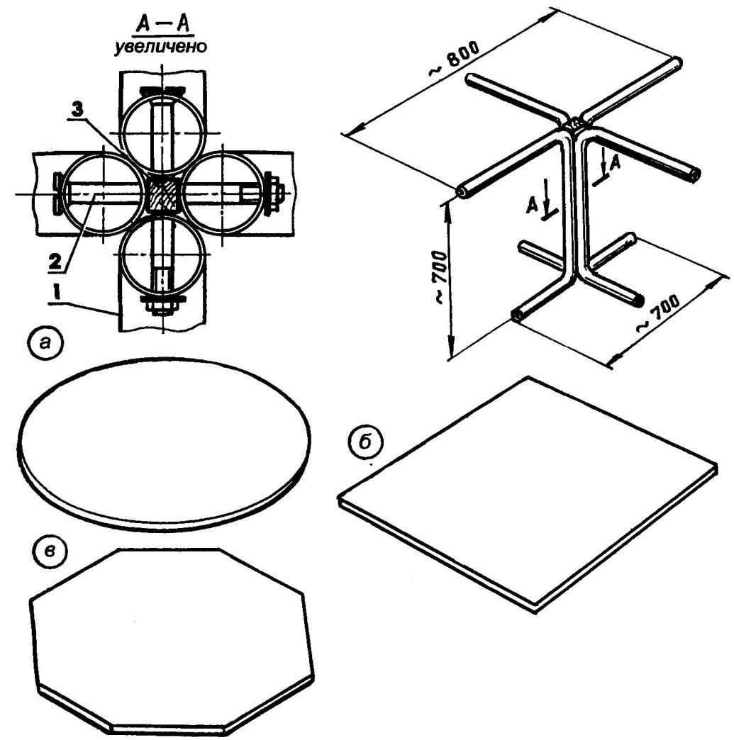 Каркас стола
