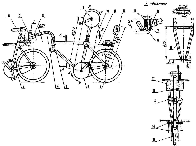 Реактивный велосипед своими руками