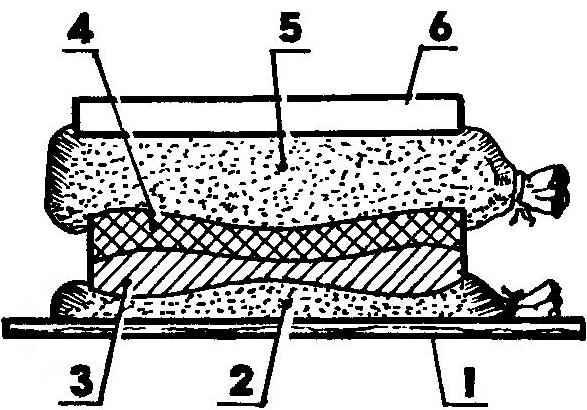 «Песчаная» технология склеивания деталей