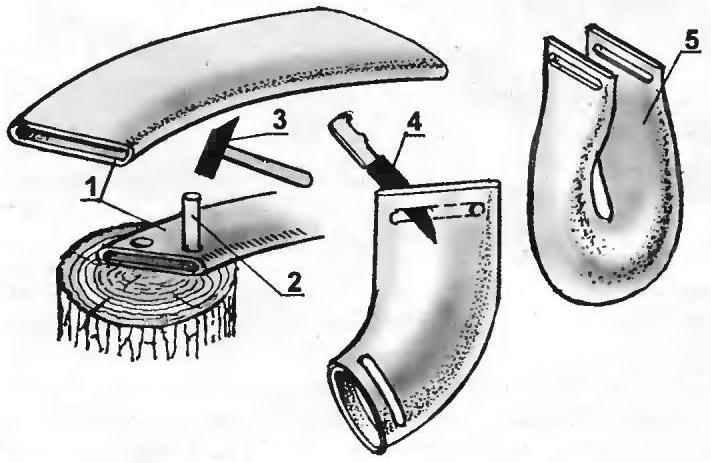 Изготовление мягкого ведра