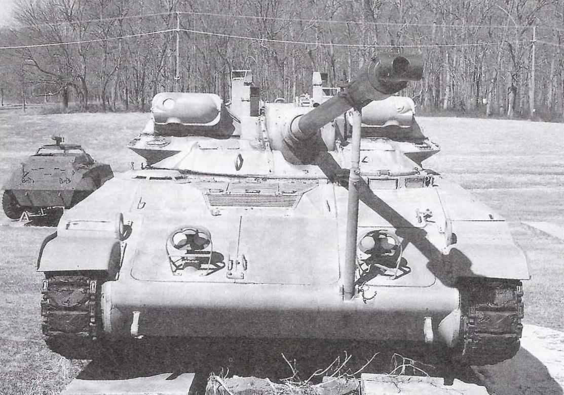 Танк Т92 в экспозиции танкового музея в Абердине