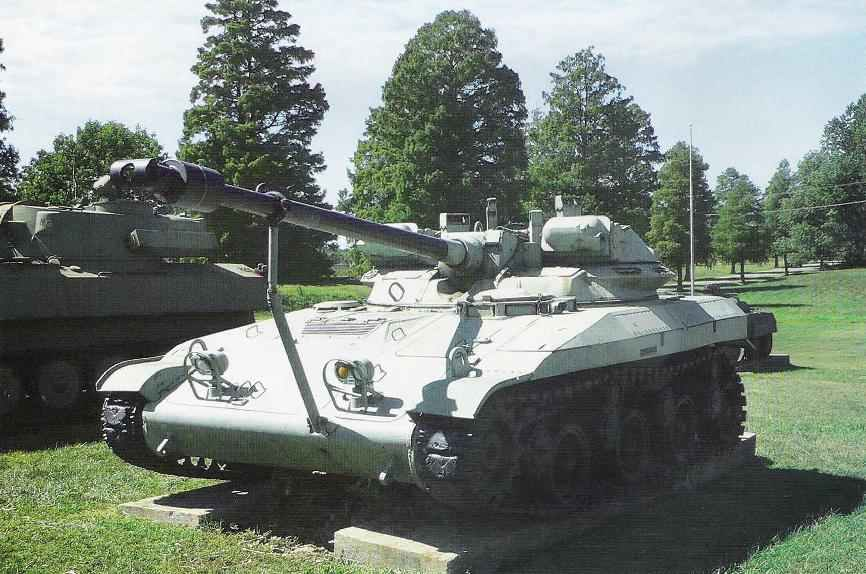 T92 tank to the exposure tank Museum in Aberdeen