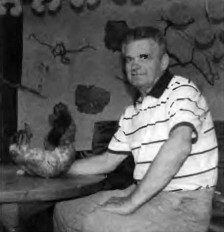 Валерий Журавский и его автопортрет