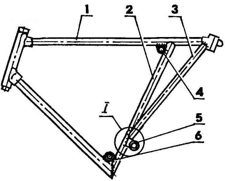 Frame mini-bike