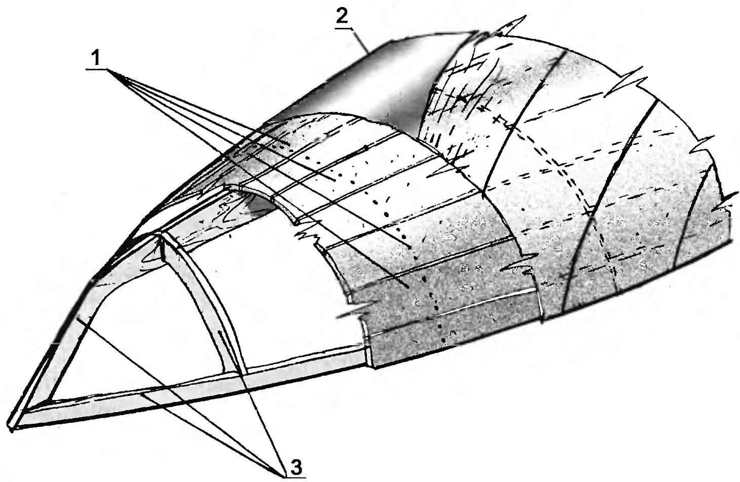 Рис. 8. Композитный корпус с обшивкой типа «сандвич»