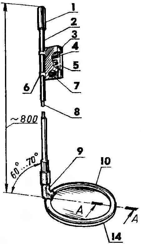 Схема металлоискателя (металлодетектора) - 2004г