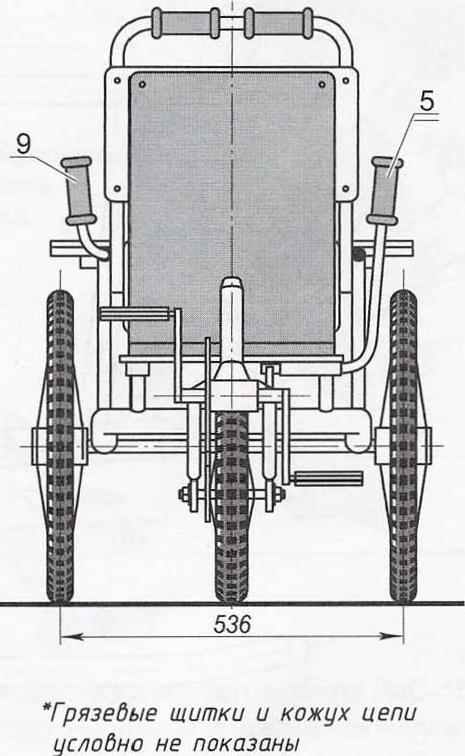 Велоколяска «Зольга»