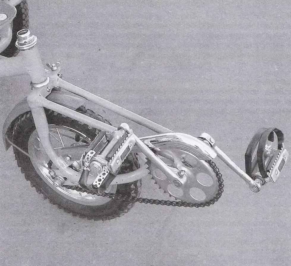 Как сделать колесо с педалями 261