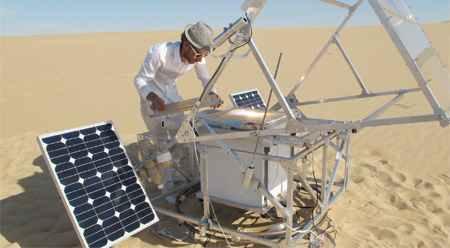 Принтер на солнечных батареях