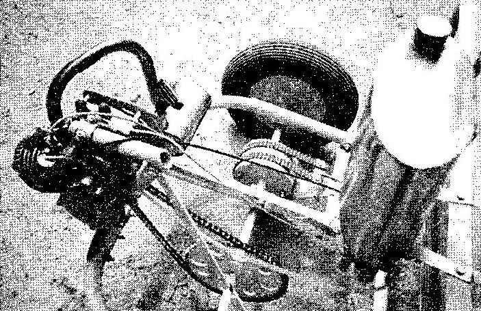 Заднемоюрная компоновка автомобиля