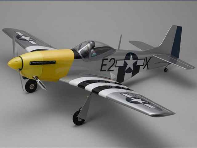 RC plane Kyosho P-51D Mustang