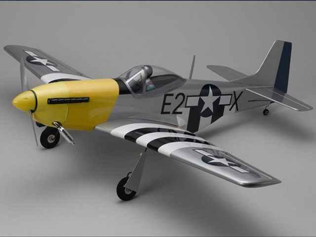 Радиоуправляемый самолет Kyosho P-51D Mustang