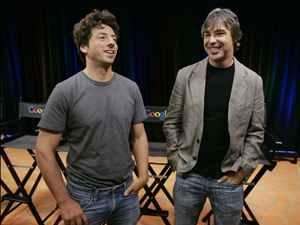 Основателям Google Сергею Брину (слева) и Ларри Пейджу уже давно тесно в интернете