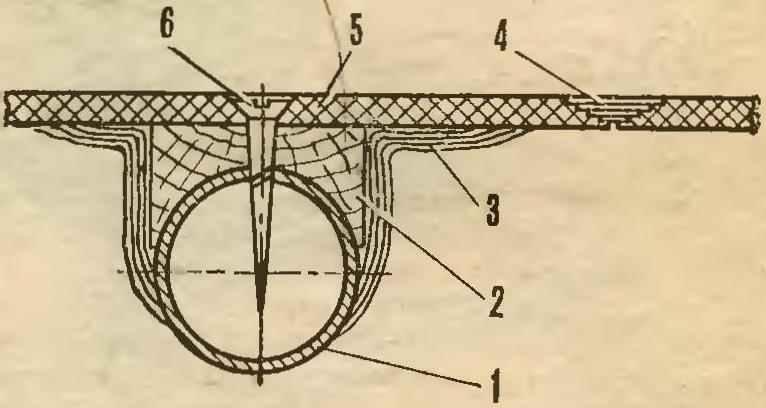 Рис. 3. Типовая схема стыковки панелей