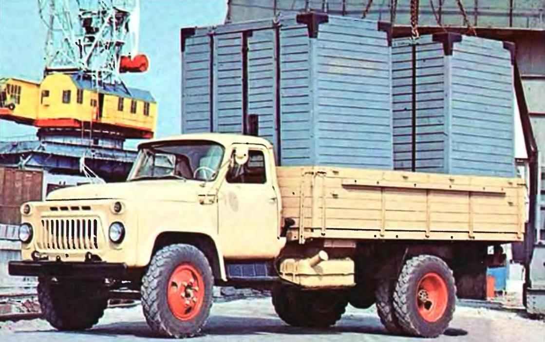 Грузовой автомобиль ГАЗ-5ЗА