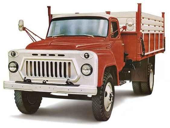 Четырёхтонный ГАЗ-53А выпуска 1965 года